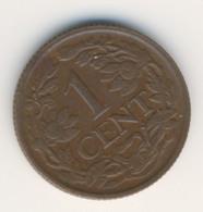 NEDERLAND 1939: 1 Cent, KM 152 - 1 Cent