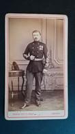 CDV - MILITAIRE  - Gradé Médailles - Photo Pierre Petit Cambrai - Oorlog, Militair