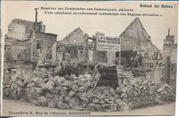 SOISSONS - Ets NOUGAREDE  - Transféré Rue De L'évéché - Publicité - Voir Scan Verso - Soissons