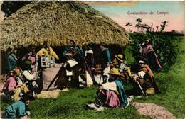 PC CPA URUGUAY, COSTUMBRES DEL CAMPO, Vintage Postcard (b20562) - Uruguay