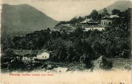 PC CPA MALAYSIA, PENANG, BUDDHISTE TEMPLE AYER STAM, VINTAGE POSTCARD (b4082) - Malaysia