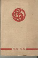 Association Amicale Des  Anciens Eleves De L Ecole De Brasserie De Nancy Annuaire 1929 .1930...111 Pages - Diploma & School Reports