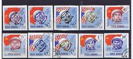 Rumänien 1964, Michel-Nr. 2248-2257 Gestempelt / Used - Gebraucht