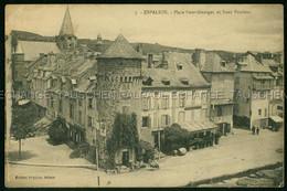 Espalion CAFE BUNO ? Franchise Militaire A Louis PALONS De Viviez 139 Regiment D'Infanterie Aurillac Place Saint Georges - Espalion
