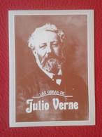ANTIGUO DÍPTICO OLD DIPTYCH DIPTYQUE LAS OBRAS DE JULIO JULES VERNE TÍTULOS, EN ESPAÑOL....DOCUMENTO, VER FOTOS BOOKS... - Werbung