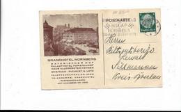 Karte Aus Nürnberg Nach Sillmenau ( Heute Polen ) 1933 - Cartas