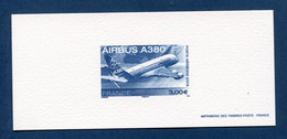 ⭐ France - Epreuve De Luxe - Poste Aérienne - YT PA N° 69 - Airbus A 380 - 2006 ⭐ - Luxusentwürfe