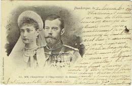 59. Dunkerque. Visite De L'Empereur Et Impératrice De Russie En 1901. - Royal Families