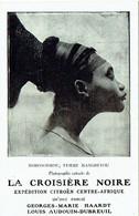 Expédition Citroën. Croisière Noire. Nobosodrou,Femme Mangbetu. Publicité Librairie Plon, Paris. - Africa
