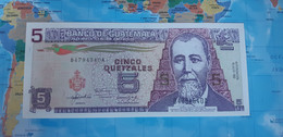 GUATEMALA 5 QUETZALES 1992 P81 UNC - Guatemala