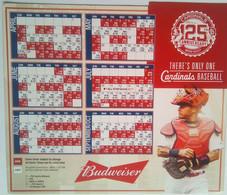 Cardinals Baseball 125th Anniversary Calendar Magnet - Sport