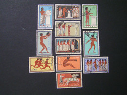 GREECE 1960 Roma Olympic Ames Used. - Grèce