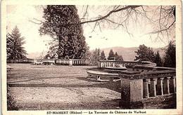 69 - SAINT MAMERT --  Terrasse Du Château De Verbust - Andere Gemeenten
