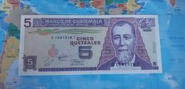 GUATEMALA 5 QUETZALES 1994 P92 UNC - Guatemala
