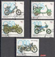 Bosnia  Srpska -  Motorcycles 2019 Set Used - Bosnia Herzegovina