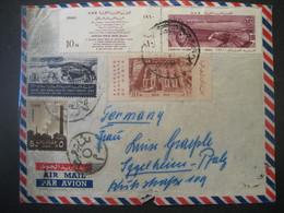 Aegypten 1960- Luftpost-Beleg Gelaufen Nach Iggelheim In Der Pfalz - Aéreo