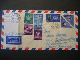 Aegypten 1963- Luftpost-Beleg Gelaufen Nach Iggelheim In Der Pfalz - Aéreo