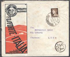Italia Regno Busta Pubblicitaria Prod.Fosforite Italia Roma VF/F - Publicity