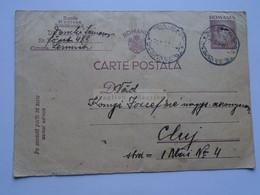 ZA331.24 ROMANIA   Postal Stationery  1947  Tg. Secuiesc  - CLUJ - 1918-1948 Ferdinand, Charles II & Michael