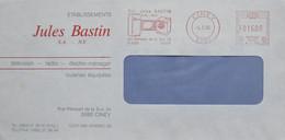België 1995 Ciney 5590 Télévision Radio électro-ménager Cuisines équipées Jules Bastin - Factories & Industries