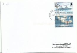 YT 229 HMS Protector - YT 267 étude De L'atmosphère - Territoire Antarctique Britanique - Storia Postale