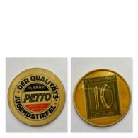 Deutschland , Kapselgeld , «PETTO» 10 Pf,  SIEHE KOMMENTAR Und BESCHREIBUNG , Timbre Monnaie, Encased Postage. - Other