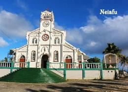 Tonga Neiafu Church New Postcard - Tonga