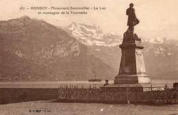 JMD7467AnnecyMonument Sommelier Et Montagne De La TournetteCirculée En: 1925 - Annecy