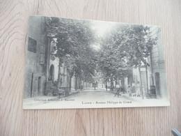 CPA 84 Vaucluse Lauris Avenue Philippe De Girard - Andere Gemeenten