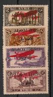 Alaouites - 1926 - Poste Aérienne PA N°Yv. 9 à 12 - Série Complète -Neuf Luxe ** / MNH / Postfrisch - Unused Stamps