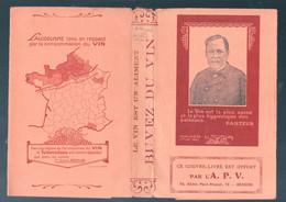Couvre-livre Avec PASTEUR Et Son VIN HYGIENIQUE (M0929) - Pubblicitari