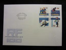 Sweden FDC 2003 Riksidrottsförbundet 100 år (FDC 8) - FDC