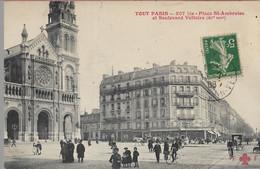 Tout Paris  Place St Ambroise Et Boulevard Voltaire - Arrondissement: 11
