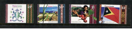(stamps 15-10-2020) Timor Leste - Set Of 4 Mint Stamps (scarce) Isued By Australia Post - East Timor
