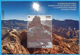 España. Spain. 2020. HB. Patrimonio Mundial. Risco Caído Y Montañas Sagradas. Gran Canaria - 2011-... Unused Stamps