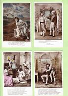 OPERA - Lot 10 CPA Sur L' AIGLON Avec Srah Bernhardt - Edition E.L.D. - Tranche Dorée - Belles CPA En Bon état - 3 Scans - Opera