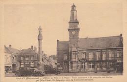 59 - BAVAY - L' Hôtel De Ville Et La Place - Ville Antérieure à La Conquête Des Gaules... - Bavay