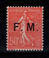 Franchise - YV 6 N** Semeuse Bien Centrée Cote 22+ Euros - Franchigia Militare (francobolli)