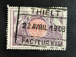 TR37 Gestempeld THIELT FACTEUR N°2 - 1895-1913