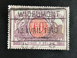 TR37 Gestempeld WIDEUMONT - 1895-1913