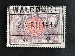 TR37 Gestempeld WALCOURT - 1895-1913