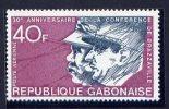 Thème Général De Gaulle - Gabon - Yvert 145 Neuf Xxx - De Gaulle (Generale)