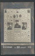 +++ CPA - Militaria - Guerre - VISE - Souvenir Du 20 Juillet 1919 - Devant-le-Pont - Reconnaissance à Ses Défenseurs  // - Visé