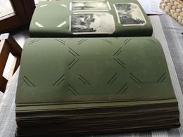 Oude Insteek Album 125 Bladen X 8 = Voor 1000 Postkaarten,in Perfecte Toestand - Materiali