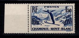 YV 334 N** Chamonix Cote 16 Euros - Ungebraucht