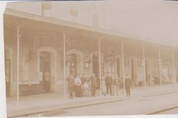MONTMORILLON La Gare   Photo Vers 1910 - Montmorillon