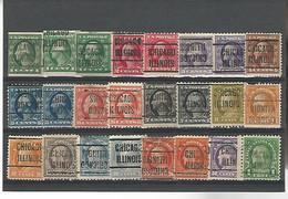 37527 ) USA Collection Precancel - Vorausentwertungen