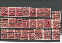 37532 ) USA Collection Precancel - Vorausentwertungen