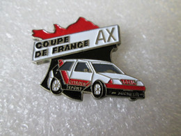 PIN'S   CITROEN  AX  COUPE DE FRANCE  TOTAL MICHELIN - Citroën