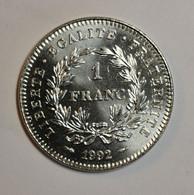 France 1 Franc 1992 SUP - K. 10 Franchi